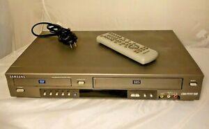 Samsung DVD-V3650 DVD VCR Combo VHS Player Recorder w Remote