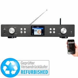 DAB Tuner: Digitaler WLAN-HiFi-Tuner mit Internetradio (Versandrückläufer)