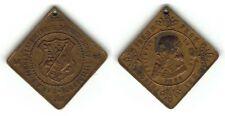 Medaille Fahnenenthüllung Deutscher Turnverein Dittersbach 22. Juni 1891