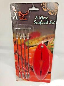 2 Set/ 10 PCS Aluminum Seafood Cracker Set