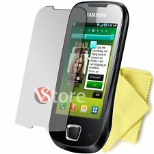 5 FILM FOR SAMSUNG I5800 GALAXY MINI GT PROTECT DISPLAY SAVE SCREEN