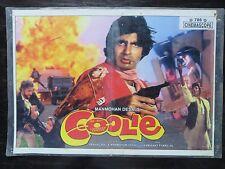 Lobby card bollywood  Drama, Action, Comedy Movie Coolie (1983) Amitabh Bachchan