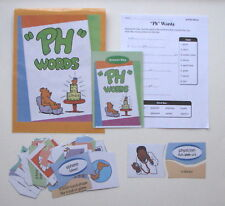 "Evan Moor Vocabulary Center Learning Resource Game ""Ph"" Words"
