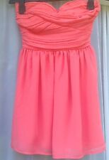 BNWT TOPSHOP RRP £55 Gorgeous Peachy Party Occasion Dress Wedding Prom 8 36