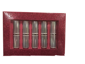 Clinique Kisses 5-Pc Dramatically Different Lipstick Shaping Lip Colour NIB