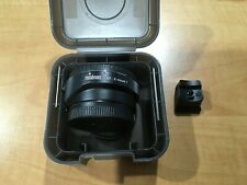 Metabones EF-E mount with adapter