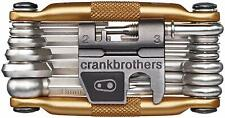 Crankbrothers Bike Steel Multi Tool Torx, Hex and Chain Tool Kit Lightweight