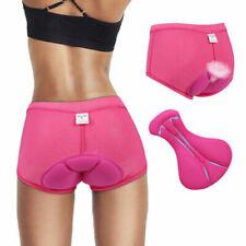 Women Bike Bicycle Cycling 3D Gel Padded Underwear Comfortable Shorts Pants