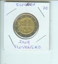 2009 SLOVAKIA SLOVENSKO 2€  2-€ 2 Euro Bimetallic Coin !!