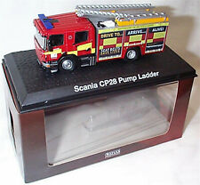 Scania CP Pump Ladder Hertfordshire 1-76 Scale in case boxed Oxford - Atlas