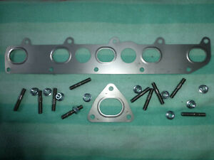 MG Rover 4 Stud Exhaust Manifold to Downpipe Gasket MG 200 400 100 WCM10009 #72