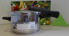 WMF olla a presión Perfect 4,5 LTR. 22 cm de acero inoxidable NUEVO + embalaje orig. made in Germany