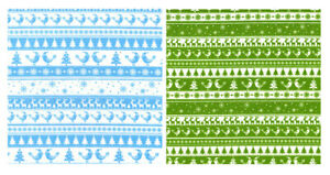 Christmas Polycotton Fabric Nordic Reindeer Snowflake Bird 112cm wide per metre