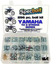 296pc BOLT KIT YAMAHA YZ and WR PLASTICS FRAME 80 85 125 250 YZ85 YZ125 YZ250