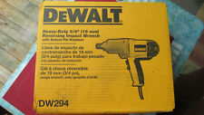 DEWALT DW294 7.5 Amp 3/4-Inch Impact Wrench with Detent Pin Anvil and extras