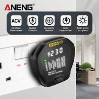 ANENG AC09 Digital Socket Tester Voltage Test Socket Detector US/UK/EU Plug Live