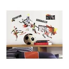 RoomMates 2489 Wandsticker Wandtattoos Fußball Champion