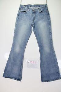 Levis 544 Flare Bootcut (Code D1583) Tg44 W30 L34 Femme Jeans Utilisé Vintage