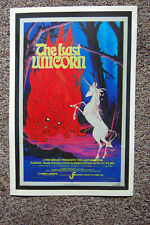 The Last Unicorn Movie Lobby Card poster
