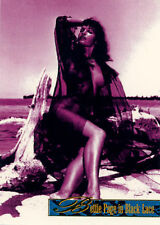 Bettie Page in Black Lace Spectra Tone Chase Card Set