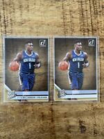 ZION WILLIAMSON *2019-20 Clearly Donruss Base Lot (2) Pelicans Rookie RC