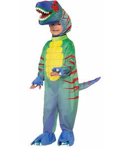 Sly Raptor Velociraptor T-Rex Dinosaur Jumpsuit Toddler Halloween Costume