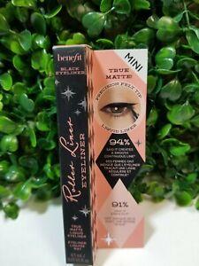 BENEFIT COSMETICS Roller Liner Waterproof Liquid Eyeliner 0.01 oz - BLACK *NEW*