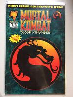 Mortal Kombat #1 Comic Book (Based on Original Video Game) - Near Mint