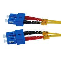 3 Meter SC/SC Single-Mode Duplex 9/125 Fiber Optic Networking Cable