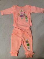 ( NEW ) Baby Clothes Garanimals Peach 0-3 Months Old