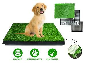 Dog Puppy Potty Training Artificial Grass Pet Toilet Trainer Waterproof Large