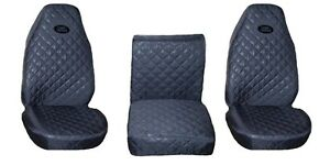 Front Seat Covers Grey for Land Rover Defender 90 , 110