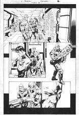 Titans #8 p.6 Whole Team!, Howard Porter