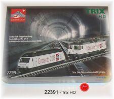 """Trix 22391 E-Lok-Doppia confezione """"Gottardo"""" re 460 + re 420 delle SBB #neu in OVP #"""