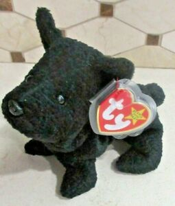 Ty Beanie Baby Scottie the Dog style 4102 DOB  6-15-96 MWMT Free Shipping