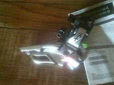 SHIMANO XT  FD-M781 TRIPLE  10 SPEED  FRONT DERAILLEUR, BRAZE-ON FIT