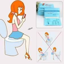 10pcs/bag Hygienic Bathroom Toilet Seat Cover Disposable Toilet Mat for Pregnant