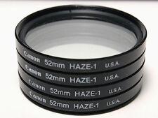 Genuine Canon 52mm Haze Haze-1 52 mm made in USA Filter