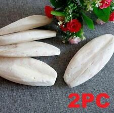 X2 Cuttle Fish Cuttlefish Bone For Pet Budgie Bird Reptiles Tortoise Food Best