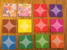 180 Sheets Mini Origami Folding Paper 4cmX4cm 12 Patterns X 15 Sheets Each