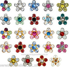 Hypoallergenic Studex Sensitive surgical steel / gold plated daisy stud earrings