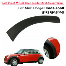 Left Side Front Wheel Rear Lower Fender Arch Cover Trim For Mini Cooper 2002-08