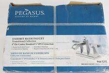 "Pegasus Exhibit 4"" On Center 2 Handle Brushed Nickel Bath Faucet 944525L"