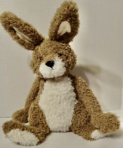 Jellycat Hetty Hare Plush Brown Floppy Bunny Rabbit Stuffed Animal Soft Toy Rare