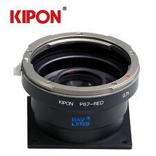 Kipon Adapter Focal Reducer Speedbooster for Pentax 67 Lens to Red Epic/Scarlet