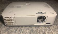 NEC NP-M260X LCD XGA Home Entertainment Projector - HDMI, 2600 Lumens, 1080i/p