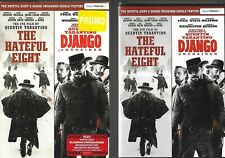 The Hateful Eight & Django Unchained Double Feature DVD Like With Slipcover