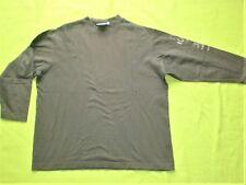 Langarm-Shirt Gr. 140 (S) von ESPRIT, braun, 100% Baumwolle