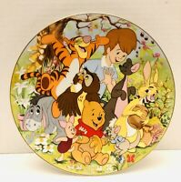 Fine Porcelain Plates By Kenleys Walt Disney Winnie The Pooh Decorative Plate