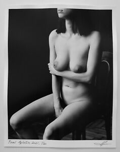 From series Torso by Pavel Apletin silver gelatin signed limited edition female